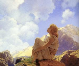 maxfield parrish and morning image