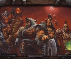 horde, wallpaper, and warcraft image