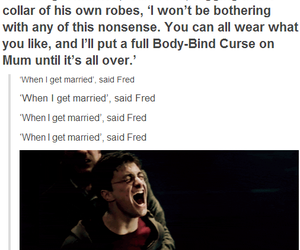 harry potter, fred weasley, and Fred image