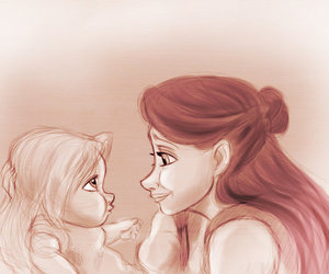 disney, happy, and mother image