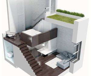 home, house, and loft image