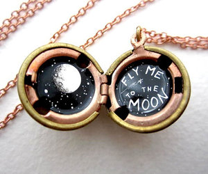 moon and necklace image