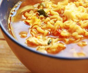 food, korea, and ramen image