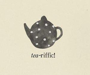 tea, teapot, and text image