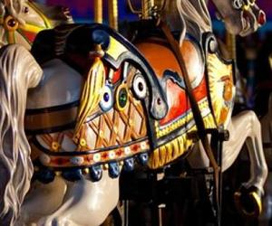 carousel, colors, and lhii image