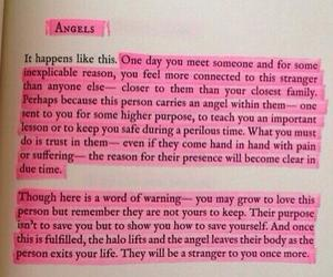 angels, be strong, and beautiful image