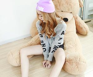 fashion, kfashion, and korea image