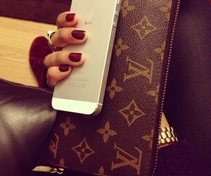 girly, iphone, and luxury image