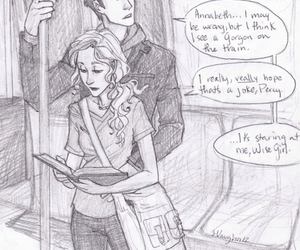 percy jackson, percabeth, and percy image