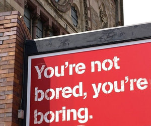 bitch, bored, and boring image