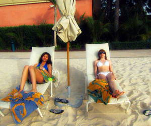 beach, bella thorne, and shake it up image