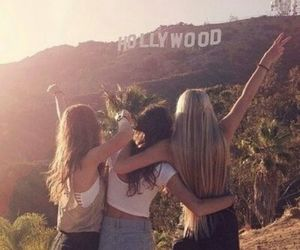 friends, hollywood, and girl image