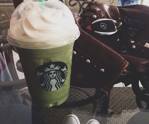 bag, green tea, and grunge image