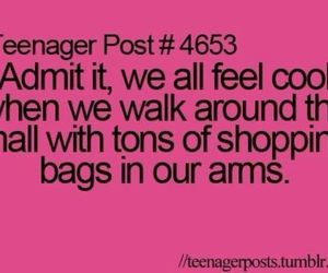 shopping, teenager post, and funny image