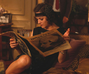 midnight in paris, Marion Cotillard, and vintage image