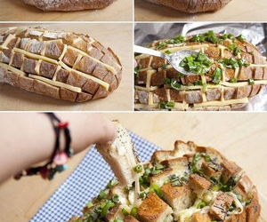 bread, food, and party idea image