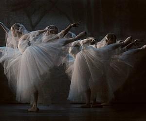 ballerina, ballet, and white image