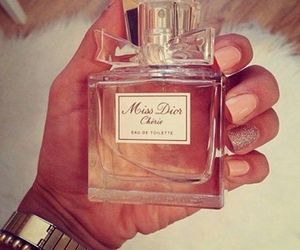 perfume, nails, and dior image