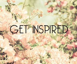 flowers, quote, and inspired image