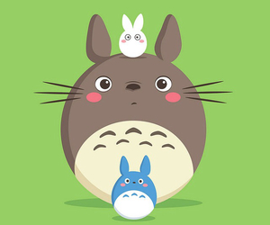 movies, totoro, and cute image