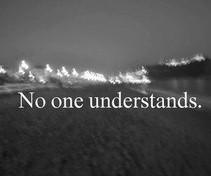sad, alone, and understand image