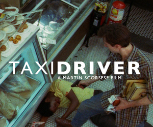 taxi driver, film, and gun image