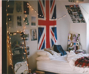 bedroom, cute, and british image