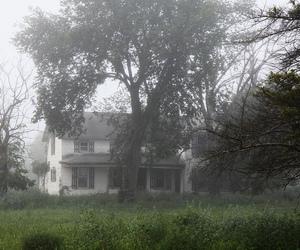 fog, vintage, and grunge house image