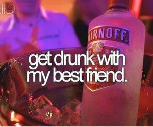 drunk, best friends, and friends image