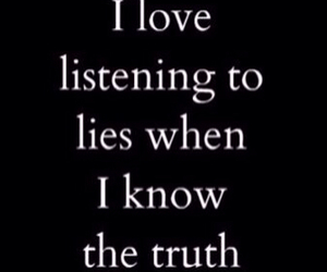 lies, truth, and love image
