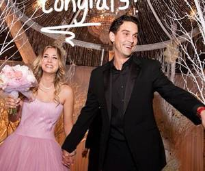 wedding, love, and kayley cuoco image
