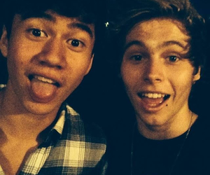 LUke, calum, and 5 seconds of summer image