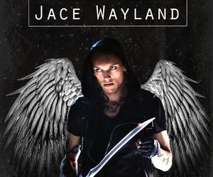 jace wayland, angel, and city of bones image