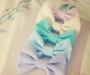 bow, cute, and pastel image