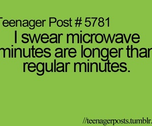 teenager post, funny, and Microwave image