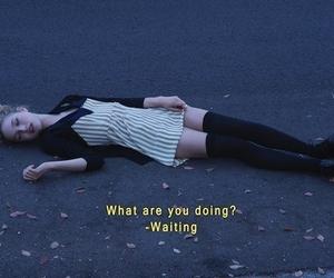 waiting, grunge, and sad image