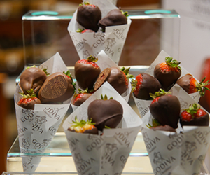 strawberry, chocolate, and food image