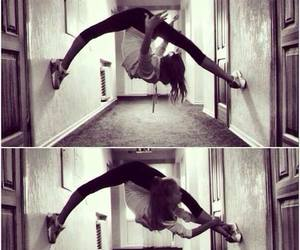 girl, dance, and flexibility image