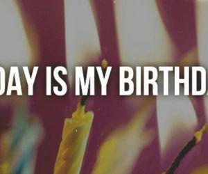 happy, birthday, and today image
