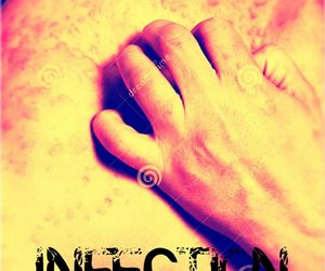 book, cover, and infection image