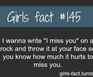 girl, hurt, and miss you image