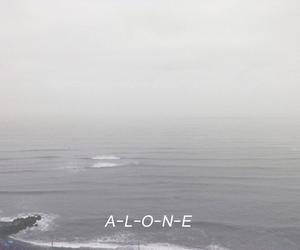 alone, pale, and sad image