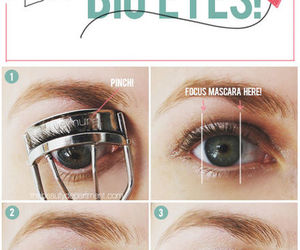 eyes, diy, and beauty image