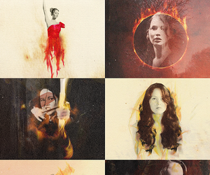 Jennifer Lawrence, katniss everdeen, and thg image