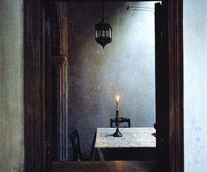 candle, indie, and mirror image