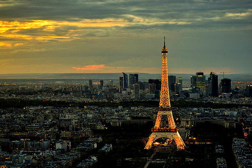 city, fashion, and eiffel tower image