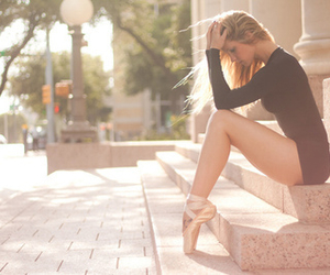 ballet, pretty, and girl image