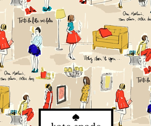 fashion, kate spade, and new york image
