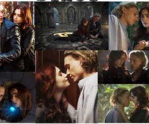 jace, ship, and the mortal instruments image