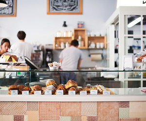 food, cafe, and bakery image